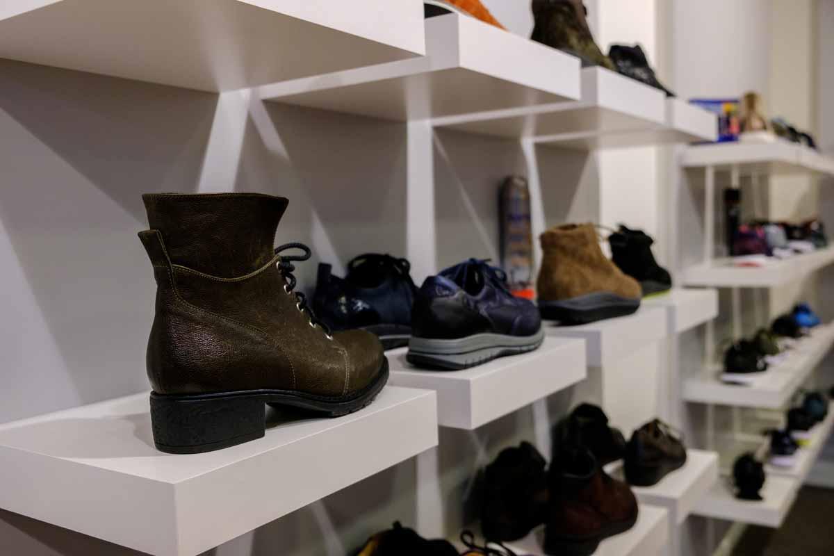 Schoenen collectie Beterlopenwinkel