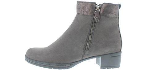 Hartjes XS Hip Boot H dames laarzen in kleur grijs.