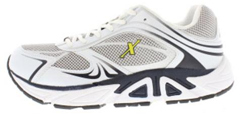 Xelero heren veterschoenen, art X32214-D, voor de normale tot brede voet, materiaal mesh is lucht doorlatend voor frisse voeten, voorzien van speciale afwikkelzool en uitneembaar voetbed
